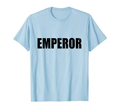 Emperor Funny Cute Lazy Easy Simple DIY Halloween Costume -