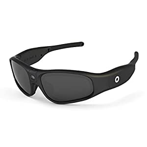 iVUE Rincon 1080P HD Camera Glasses Video Recording Sport Sunglasses DVR Eyewear (Tilt Lens, Polarized/Impact Resistant, WiFi/App) (No Mem)