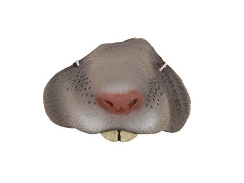 Forum Novelties Grey Mouse Nose Mask