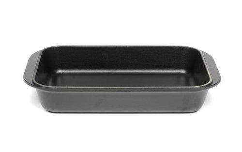 Le Creuset 11 3/4-in Cast Iron Rectangular Baker - Black Satin, 2.25 Qt - Rectangular Baker Le Creuset