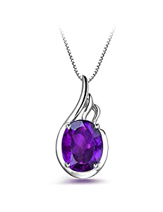 Chenim Women Jewelry Necklace Pendant Gem 925 Sterling Silver Wing for Girls Gifts
