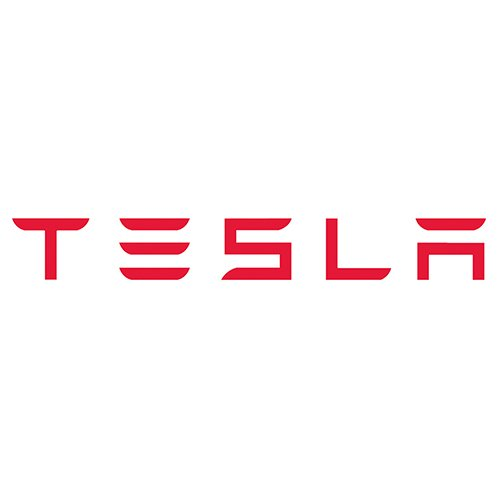 - 6 Foot Tesla Motors Vinyl Lettering Logo Decal Sticker Wall Art Die Cut - Choose Your Color (Red)
