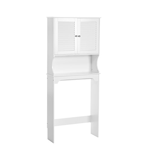 RiverRidge Ellsworth Spacesaver, White (Commode Over)