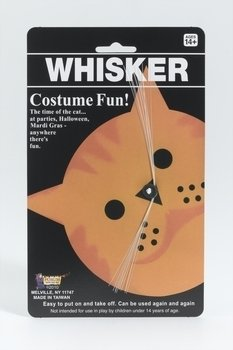 Forum Novelties 51543 Whiskers - White Accessory color, One Size, Multi, Pack of 1]()