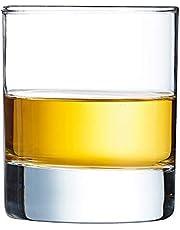 Arcoroc Islande Whiskyglas, utan fyllning, 6 stycken