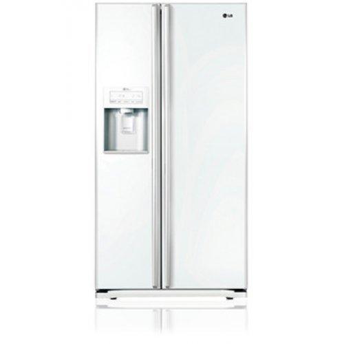 LG GS5263SWGV Independiente A+ Blanco nevera puerta lado a lado ...