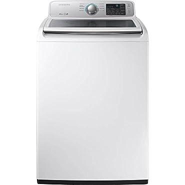 Samsung WA45M7050AW Top Load Washer (White)