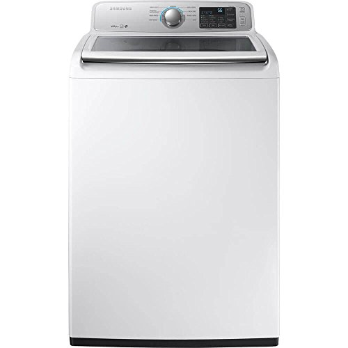 samsung wa45m7050aw - washing machine - freestanding - width: 27 in - depth: 29.3 in - height: 45 in - top loading - 4.5 cu. ft - 800 rpm - white