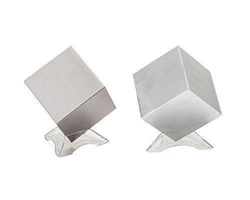 Tungsten & Aluminum Cube Set – 2.5″