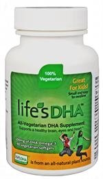 DHA oméga-3 DHA de Martek vie 100mg 90 All-végétarien Softgels enfants (pack 4)