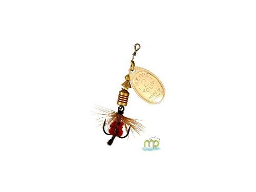 Argento//mosca Rossa colore Esca Mepps Aglia