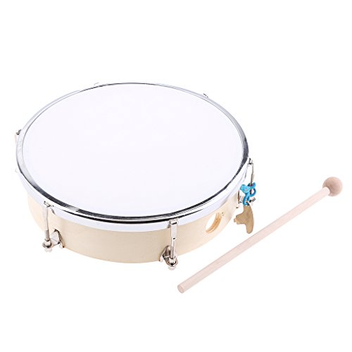 Rhythm Band Tunable Hand Drum - Jili Online Kids Babies Rhythm Trianing Tunable Hand Drum w/ Tuning Key for Gift 8 Inch