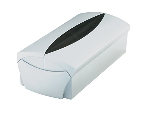 iness card box, Professional box for 500 business cards. finish, supplied with Go-Vip case, tabs and adjustable index card support, light-grey/black (Adjustable Card File)