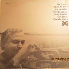 (Sam Noto - Notes To You - Xanadu Records - Xanadu 144)