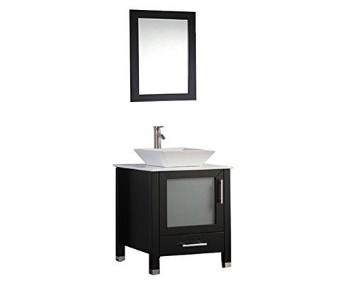 MTD Vanities Malta-24 Malta Single Sink Bathroom Vanity Set, 24