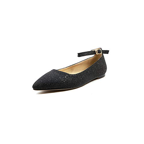 Noir APL10794 Noir 36 Compensées Sandales 5 BalaMasa Femme zvOwqIxaRR