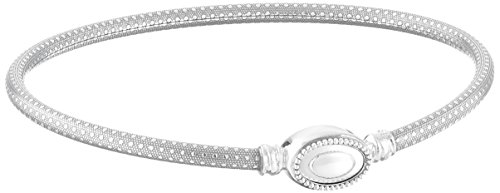 Bar 925 Sterling Silver Bracelet - 9