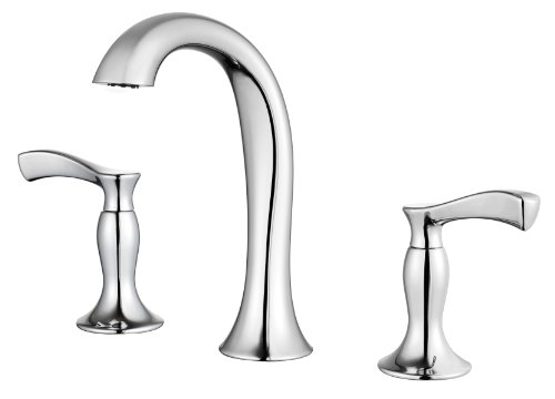 "Pfister Cassano 2-Handle 8"" Widespread Bathroom Faucet, Polished Chrome"