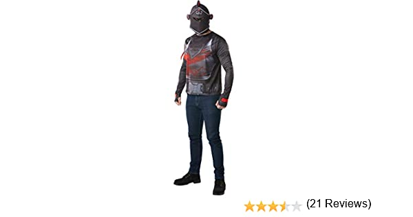 Fortnite - Disfraz camiseta Black Knight para adulto, talla M ...