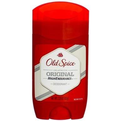 Old Spice High Endurance Original Scent Mens Deodorant, 2.25 Oz (Pack of 3)