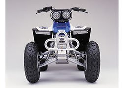 DG Performance 55-4012 - Alloy Series Front Bumper - Aluminum fits Yamaha Warrior 350 (1987 - 2004)