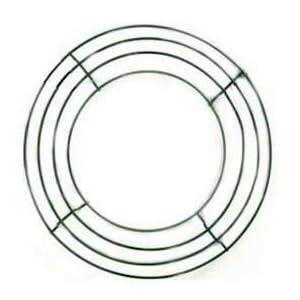 "Richland Box Wire 10"" Wreath Frames Set of 10 31"