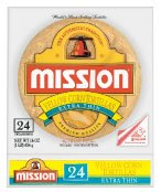 Mission Yellow Corn Tortillas Extra Thin - Contains 8 Packs(24ct)