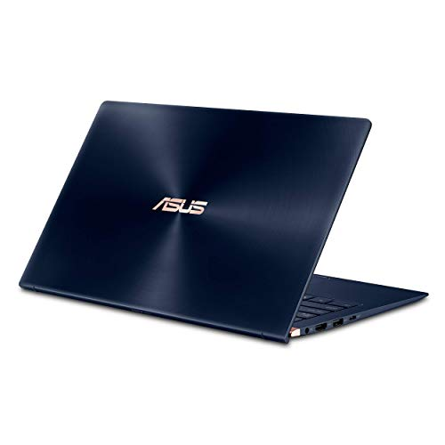 "ASUS ZenBook 14 Ultra-Slim Laptop 14"" FHD Nano-Edge Bezel, 8th-Gen Intel Core i7-8565U Processor, 16GB LPDDR3, 512GB PCIe SSD, Backlit KB, Numberpad, Windows 10 - UX433FA-DH74, Royal Blue (Renewed)"