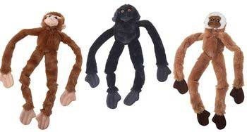 (Ethical Pet Products DSO5546 Skinneeez Plush Monkey 16 in.)
