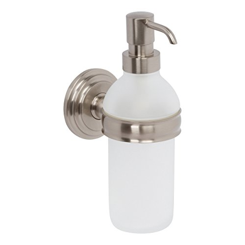 (Ginger 1114/SN Chelsea, Satin Nickel, Soap/Lotion Dispenser)