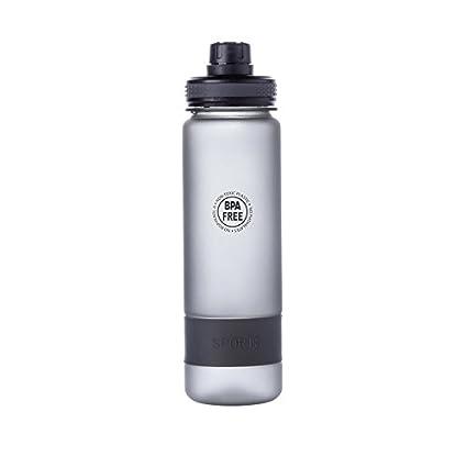 Guoke Botella de agua La preciosa agua dulce recipiente plástico colegialas portátil compacto taza personalizada antifugas