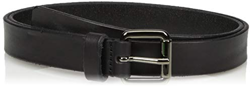 (A|X Armani Exchange Women's Leather Belt, black, XL)