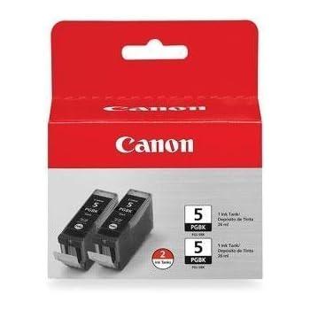 Canon PGI-5 BK 0628B009 2-Pack Pigment Black Ink Tanks