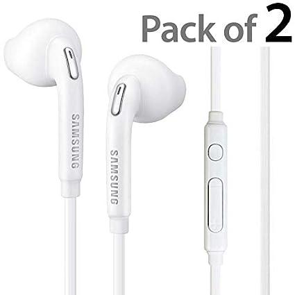 834d6cfb274 2-Pack OEM Original Earbud Earphone Headset Headphones With Remote for  Samsung Galaxy S6 edge