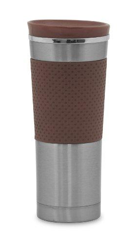 Farberware Discover Mug, Brown Farberware Stainless Steel Vacuum