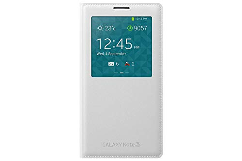 Samsung Official Original S View Cover for Galaxy Note 3 - White (Bulk Packaging) (Samsung Galaxy Note 3 S View Case)