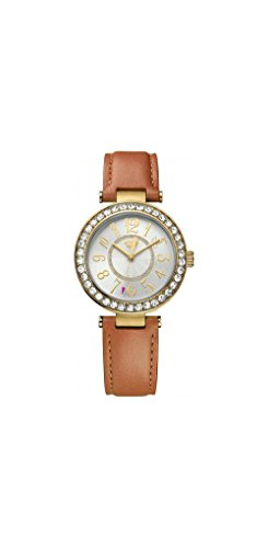 Couture Watch Brown Strap (Juicy Couture Women's 1901397 Cali Analog Display Japanese Quartz Brown)