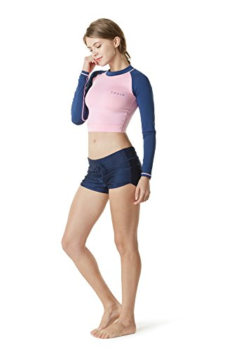 Tesla-Womens-Tankini-Shorts-Swimsuit-Quick-Dry-Water-Beach-Board-Bottom-FSB03
