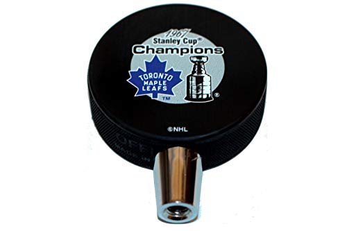 1967 Toronto Maple Leafs Stanley Cup Champions Hockey Puck Beer Tap Handle ()