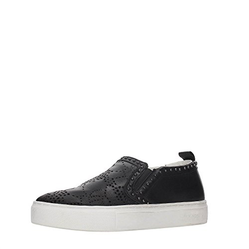 Crime 25381S17B Slip On Donna BLACK 40