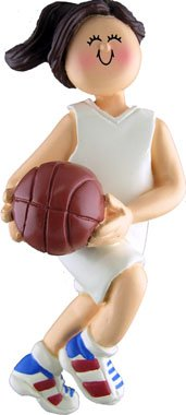 Ornament Central OC-101-FBR Female Basketball