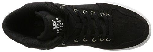 Supra Herren Vaider Sneaker Schwarz (Black-White/White)
