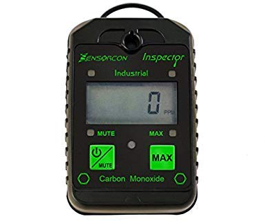 Tough, Waterproof, USA Made: Certified Intrinsically Safe Carbon Monoxide Detector & CO Meter (CO...