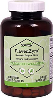 Vitacost FlavenZym Systemic Enzymes -- 180 Enteric Coated - Tablets 180 Coated Enteric