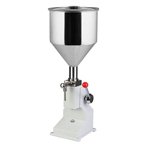 (OrangeA Manual Liquid Filling Machine 5ml to 50ml for Cream Cosmetic Liquid Filler)