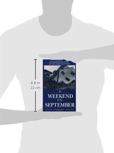A Weekend In September John Edward Weems 9780890963906 Amazon