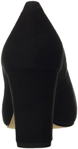 Black Ouvert Noir Bout 18 Femme Escarpins Unisa KS Numis wF1qAp