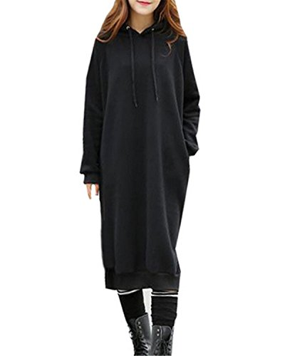 Long Black Fleece - 8