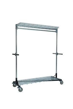 The Heritage Garment Steel Rolling Rack [Health and Beauty]