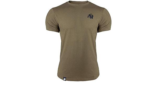 GORILLA WEAR Camiseta de entrenamiento superior Detroit negra ...